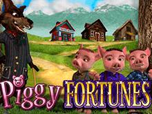 В виртуальном казино автомат Piggy Fortunes